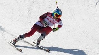 Theo Gmür va per aur er en il slalom gigant