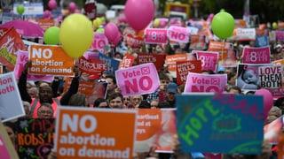 Referendum über Abtreibung spaltet Irland