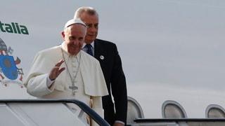 Il papa vegn a s'inscuntrar cun trais cussegliers federals