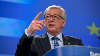 Juncker cun appel a populaziun grecca