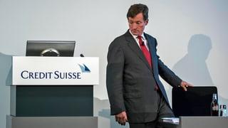 Credit-Suisse-Chef Dougan tritt zurück