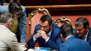 Matteo Salvini und die Regierungskrise zu Ferragosto