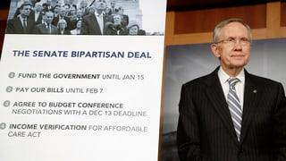 US-Budgetstreit vorläufig beendet