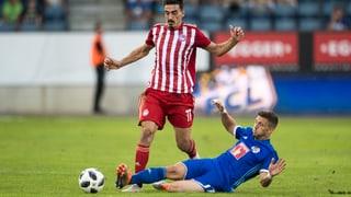 Luzern auch im Rückspiel chancenlos