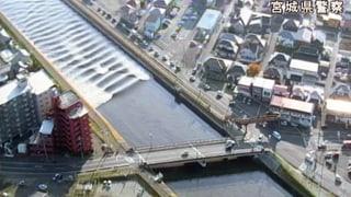 Flutwelle nach Beben in Japan erreicht 1,40 Meter