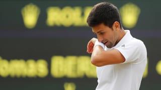 Djokovic gibt im Wimbledon-Viertelfinal auf
