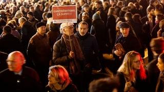 Demonstrationen gegen Antisemitismus in Frankreich