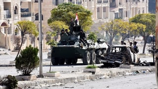 Assads Truppen nehmen grösstes Rebellenviertel von Aleppo ein