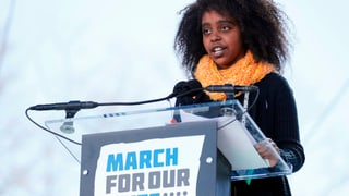 Das waren die bewegendsten Auftritte am «March for our lives»