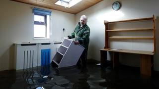 Hochwasser in Grossbritannien: Keine Entspannung in Sicht