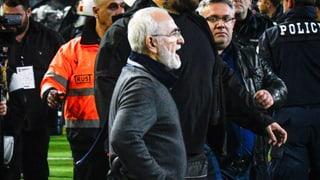 Drei Jahre Stadionverbot für Savvidis