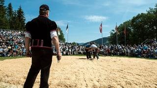 Als Schwinger im Mittelfeld – als Kampfrichter an der Spitze