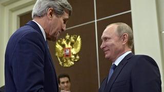 Diplomatisches Frühlingserwachen: Kerry trifft Putin