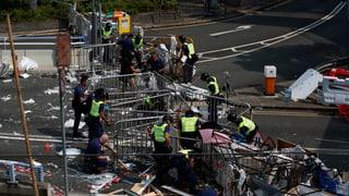 Räumung in Hongkong geht weiter