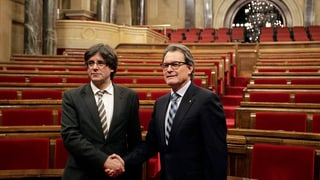 Nov primminister per la Catalugna