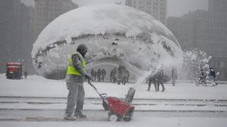 Chicago: Schneesturm vermiest Superbowl-Partys
