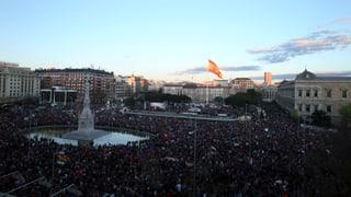 Tausende demonstrieren in Madrid für soziale Gerechtigkeit