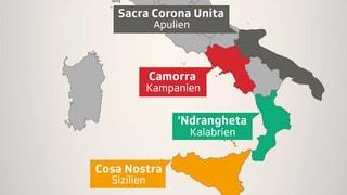 Wo stehen die Mafia-Organisationen heute?