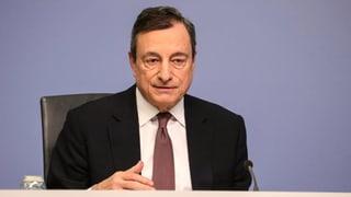 Draghi in der Dunkelkammer