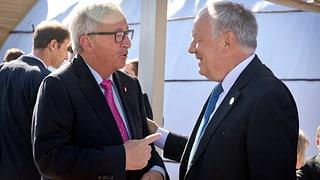 Zankapfel Zuwanderung: Juncker kommt im September nach Zürich