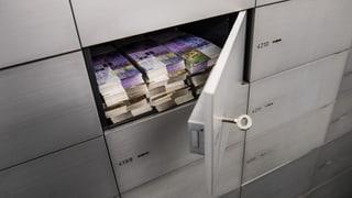 Nationalrat für Bankgeheimnis-Initiative und Gegenvorschlag