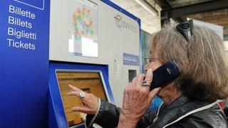 Weniger Qual mit der Wahl am Billett-Automaten