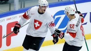 Schweiz schafft Überraschung gegen Finnland