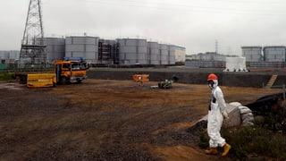 Atomruine von Fukushima leckt