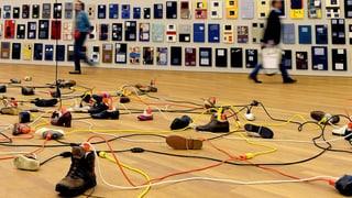 Paul Chans Arbeit mit Kabeln, Macht und Kunst