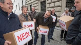 Bürgerliche Parteien suchen Lösungen nach dem Steuer-Nein