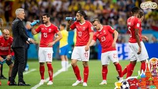 Das ist die Schweizer Nationalmannschaft