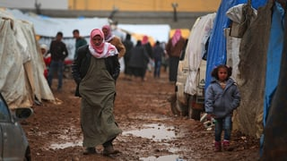Humanitäre Hilfe für Syrien wird aufgegleist