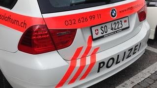 Solothurner wollen ihre Stadtpolizei behalten