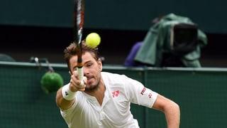 Wawrinka è crudà ora a Wimbledon