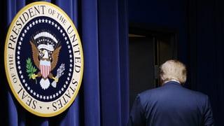 Kommt Trump nochmals in Bedrängnis?