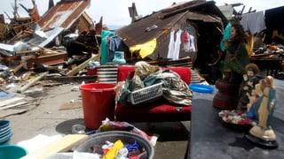Trümmer und Hunger nach «Haiyan»