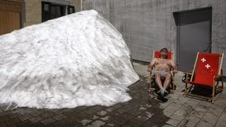 Klimawandel bringt der Schweiz heisse Sommer und laue Winter