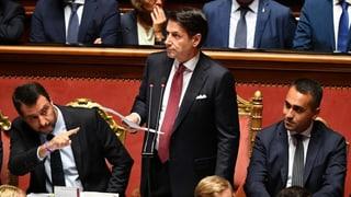 Il primminister talian sa retira