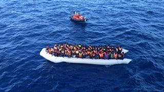 Tausende Flüchtlinge in Seenot: «So noch nicht da gewesen»