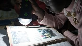 LED-Licht statt Kerosin-Lampen