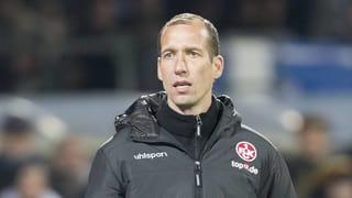 Entwarnung bei FCK-Trainer Strasser