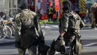 Polizei schliesst Terror-Motiv nicht aus