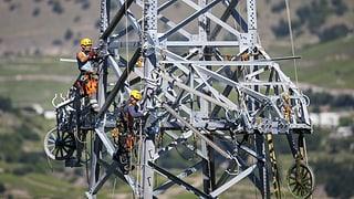 Stromleitungen sorgen für Unmut im Wallis