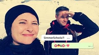 2 Länder, 1 Selfie – wir zeigen eine vielfältige Schweiz!