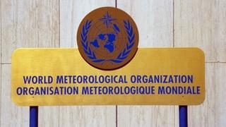 Ohne WMO kein SRF Meteo