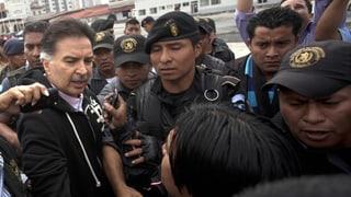 Guatemalas Ex-Präsident an die USA ausgeliefert