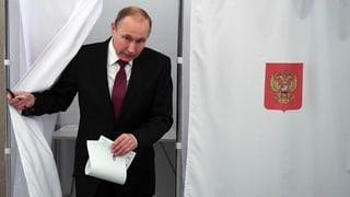 La Russia ha elegì – Putin è il vegl ed il nov president
