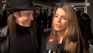 Schwer verliebt: Gotthard-Sänger Nic Maeder und seine Isabelle