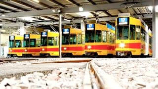 Die BLT befährt die neue Linie über Margarethenstich in Basel