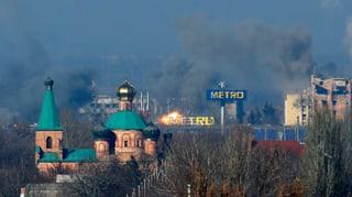 Heftigste Gefechte in Donezk seit der Waffenruhe